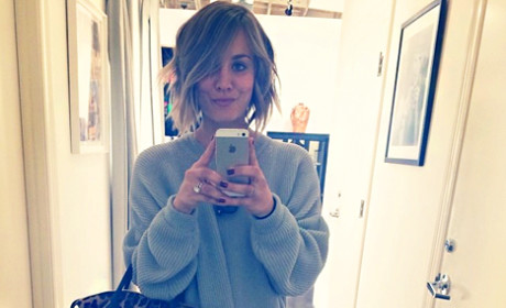 Kaley Cuoco Chops Off Hair: React Now!