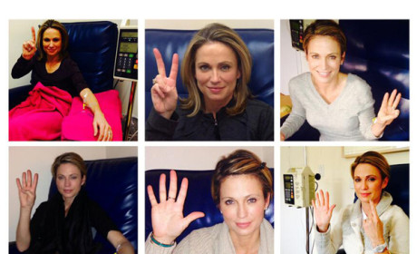 "Amy Robach Completes Chemotherapy, Accomplishes ""Huge Milestone"""