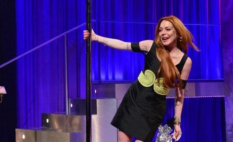 Lindsay Lohan Pole Dances on British TV, Continues to Make Great Decisions