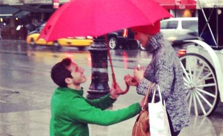 Stranger in NYC Captures Couple's Engagement on Camera: See the Pics!