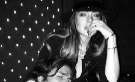 Lindsay Lohan Drunk in the Club?
