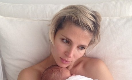 Elsa Pataky Baby Pic: No Makeup, All Cuteness!