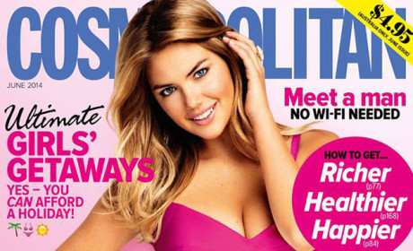 Kate Upton Cosmopolitan Cover: Damn, Girl!