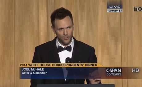 Joel McHale at White House Correspondents' Dinner: Who Got Zinged?