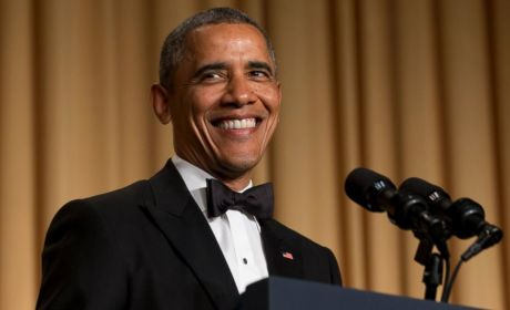 President Obama Slams CNN, Fox News, Himself at White House Correspondents' Dinner