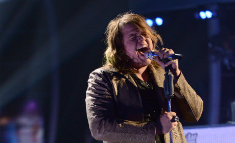 Caleb Johnson on Idol