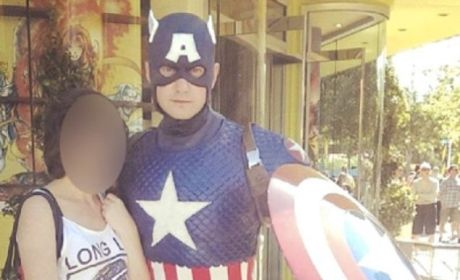 Captain America Sends Penis Photos to Underage Girl, Gets Arrested
