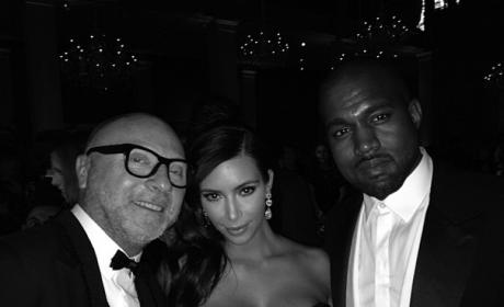 Domenico Dolce, Kim and Kanye