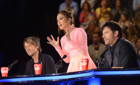 Jennifer Lopez on Idol