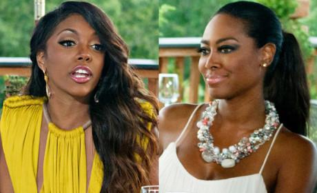 Kenya Moore Speaks on Porsha Williams Fight & More: 13 Ridiculous Quotes
