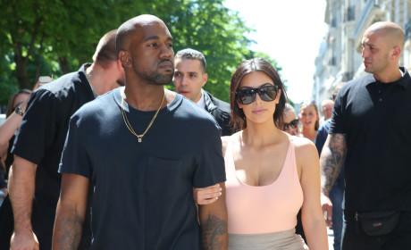 Kim Kardashian & Reggie Bush: Exchanging Flirty Texts While She Was Dating 'Ye?!