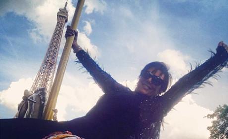 Kris Jenner Paris Picture