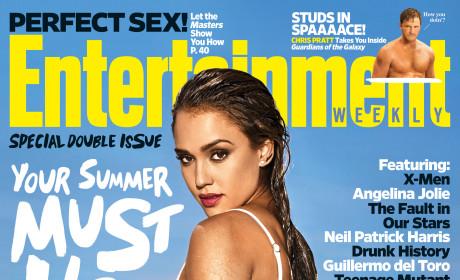 Jessica Alba: Bikini-Clad For Entertainment Weekly!