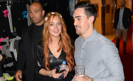 Lindsay Lohan and Michael Lohan Photo