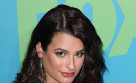 Lea Michele Warns Aviva Drescher: You Better Run!