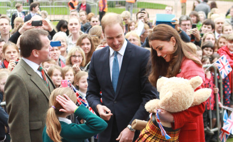 Kate Middleton, Prince William Tour Scotland