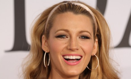 Blake Lively at Fashion Awards