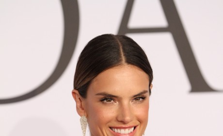 Alessandra Ambrosio at Fashion Awards
