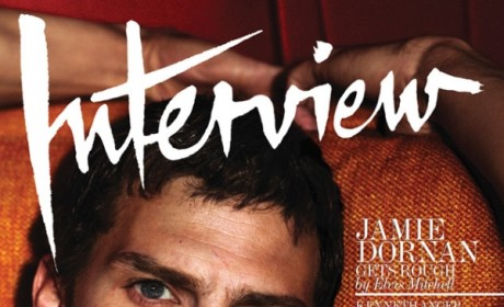 Jamie Dornan: Shirtless in Interview Magazine!