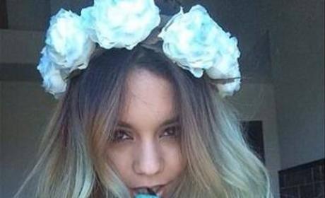 Celebrity Hair Affair: Vanessa Hudgens Goes Blue!