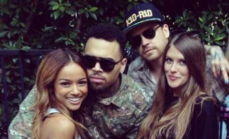 Chris Brown, Karrueche Celebrate Jail Release at Welcome Home Party: See the Pics!