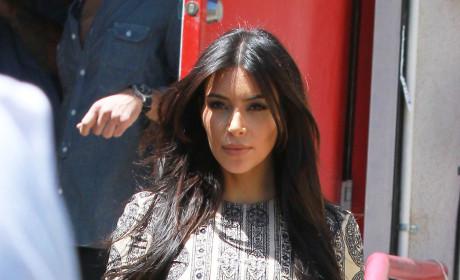 Kim Kardashian in W. Hollywood