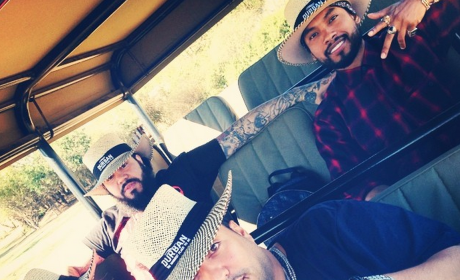 Khloe Kardashian and French Montana: On Safari in South Africa!