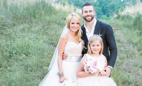 Emily Maynard Wedding Dress: Revealed! Gorgeous!