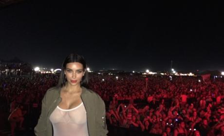 Kim Kardashian Boobs Shirt