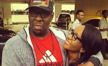 Bobby Brown and Bobbi Kristina Brown