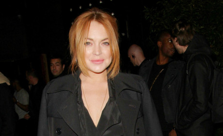 Lindsay Lohan in London Image