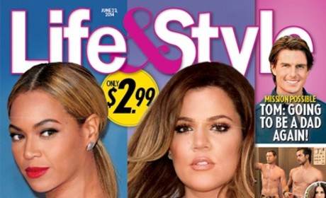 Beyonce, Khloe Kardashian Life & Style Cover