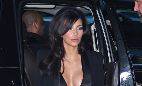 Kim Kardashian Blazer Photo