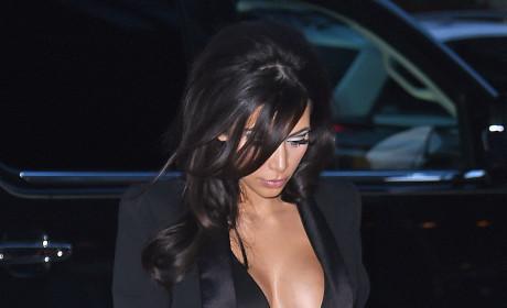 Kim Kardashian is Not Shy
