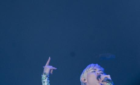Miley Cyrus in Madrid