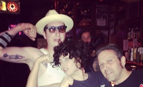 Lady Gaga Night Out Photos