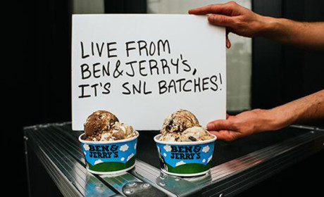 Ben & Jerry's Introduces Saturday Night Live-Themed Ice Cream Flavors