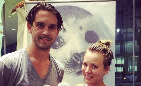 Kaley Cuoco and Ryan Sweeting Save the Seals