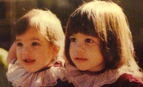 Kim and Kourtney Baby Photo