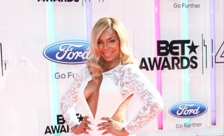 Ashanti BET Awards Photo