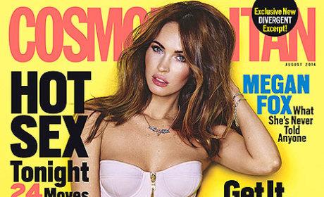 Megan Fox 2014 Cosmo Cover