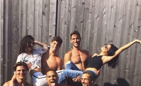 Kylie, Kendall, Shirtless Dudes