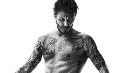 David Beckham in Sweat Pants