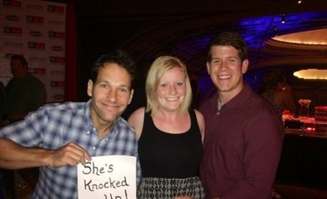Paul Rudd Helps Couple Announce Pregnancy, Is Totally Awesome