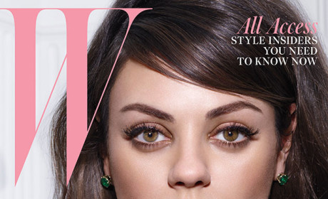 "Mila Kunis Gushes Over Ashton Kutcher: He's the ""Love of My Life"""