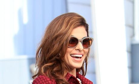 Eva Mendes Smiles