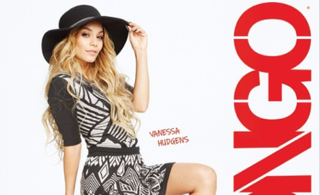 Vanessa Hudgens: No Photoshop For New Bongo Jeans Ads!
