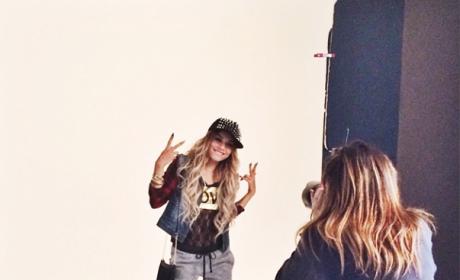 Vanessa Hudgens Modeling