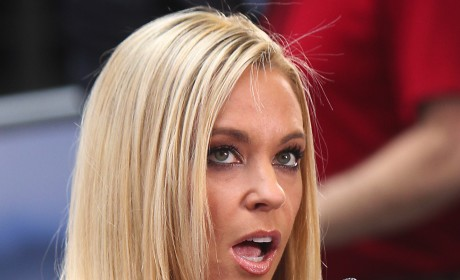 Kate Gosselin Rolls Eyes