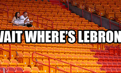 Where's LeBron